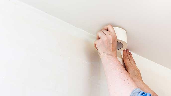 tips schilderen plafond